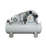 Low-pressure oilless air compressor
