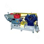 Cold start belt-driven series air compressor