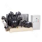 Medium pressure air-cooled and belt-driven series air compressor
