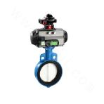 Pneumatic Environmental Protection Butterfly Valve with Intelligent Head