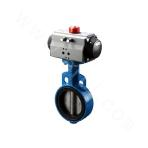 Pneumatic Wear-resistant Butterfly Valve