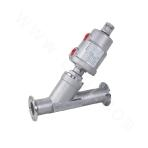 K3-Ready-packaged Pneumatic Angle Seat Valve with SS Head