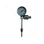 Bimetal Thermometer with Thermocouple (Thermal Resistance) Temperature Transmitter