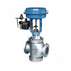 HHG8103Q Cooling Fin-type Pneumatic Film Double-seat Control Valve