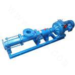 Single-screw pump