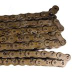 Short pitch roller chain of A series with three rows