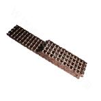 Short pitch roller chain of A series with four rows