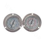 YX series common  pressure gauge with electric contact at back connection