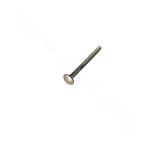 ANSIB18.5M-316 round head square neck bolt M16-M20