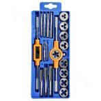 Thread tap and die set (12 pieces)
