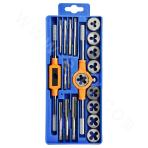Thread tap and die set (20 pieces)