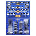Thread tap and die set (110 pieces)