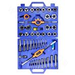 Thread tap and die set (45 pieces)