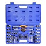 Thread tap and die set (60 pieces)