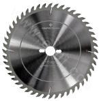 Electronic dividing saw main saw blade