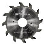 Cutting board saw bottom groove saw blade (double blade)