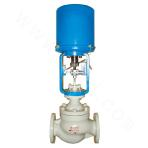 5 MPa Electronic Electric Cage type double seat Regulating valve