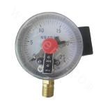 DN100 screw connection electric contact pressure gauge