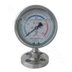 0~2.5MPa screw connection diaphragm shock-resistance pressure gauge