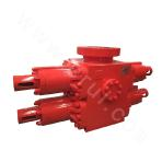F35-21 S-shaped Double Ram Blowout Preventer