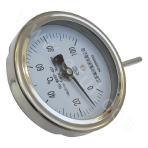 Ferrule thread-type bimetal thermometer