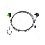 Quick-shell type furnace wall thermocouple