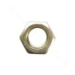 ISO4032-25Cr2MoV hex nut -zinc plating-yellow