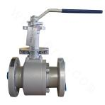 Flange-connected and forged two-piece floating ball valve 900LB ASTM A350-LF2