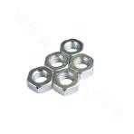 DIN970-45# hex nut zinc plated