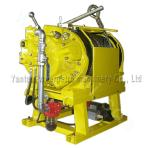 5ton Air Winch for Towing Cable Winch with Double Braking