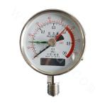 Three-needle pressure gauge