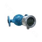 Vertical LCD oval gear flowmeter
