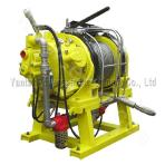 ABS/CCS Certified 3t Air Pulling Winch with Large Cable Storage and Pulling Force for Coal Minings