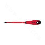 Insulating slot type screwdriver