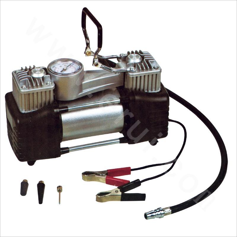 Metal 30 Double-cylinder Vehicle-mounted Air Pump