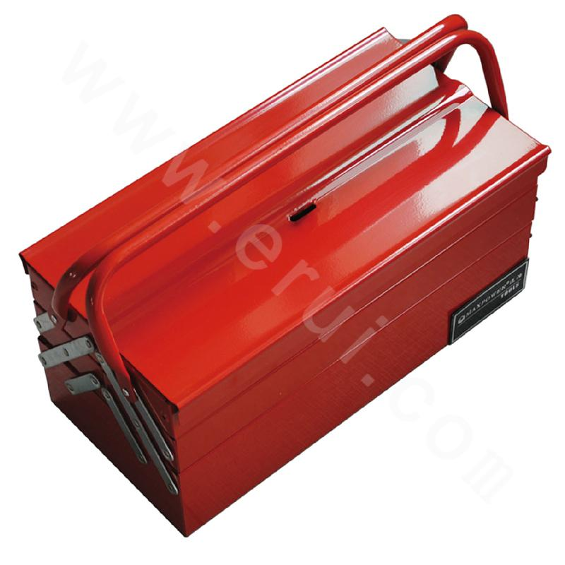 "17"" Tipping-bucket portable toolbox"