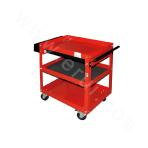 Three-layer single drawer tool car