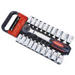 21 10mm Series metric/imperial socket sets