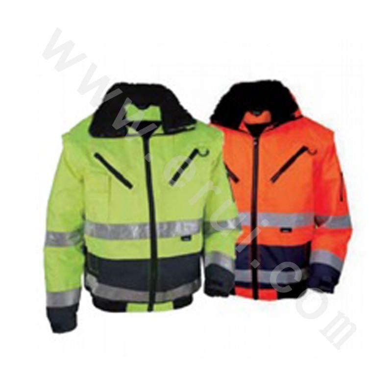 High visibility pilot jacket