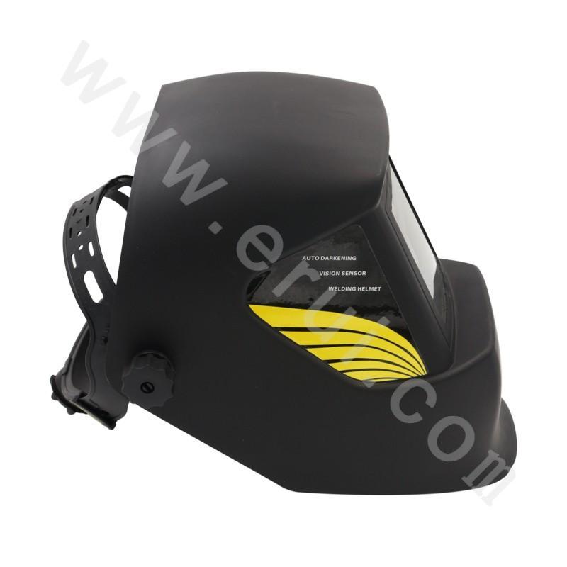 Auto-darkening welding mask