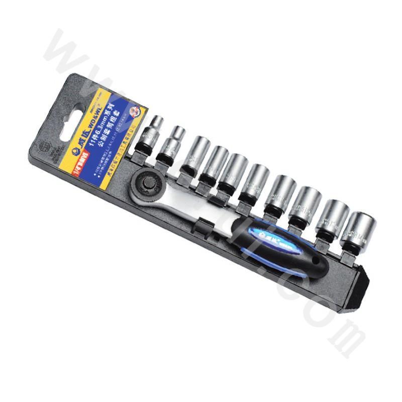 11 Pieces 6.3mm Series Metric Sleeve Set