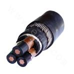 Type B Crosslinked Polyethylene Insulated Steel Strip Armored Polyvinyl Chloride Sheathed Power Cable
