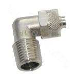 ¢8 Metal Quick Hose Straight Pipe Union