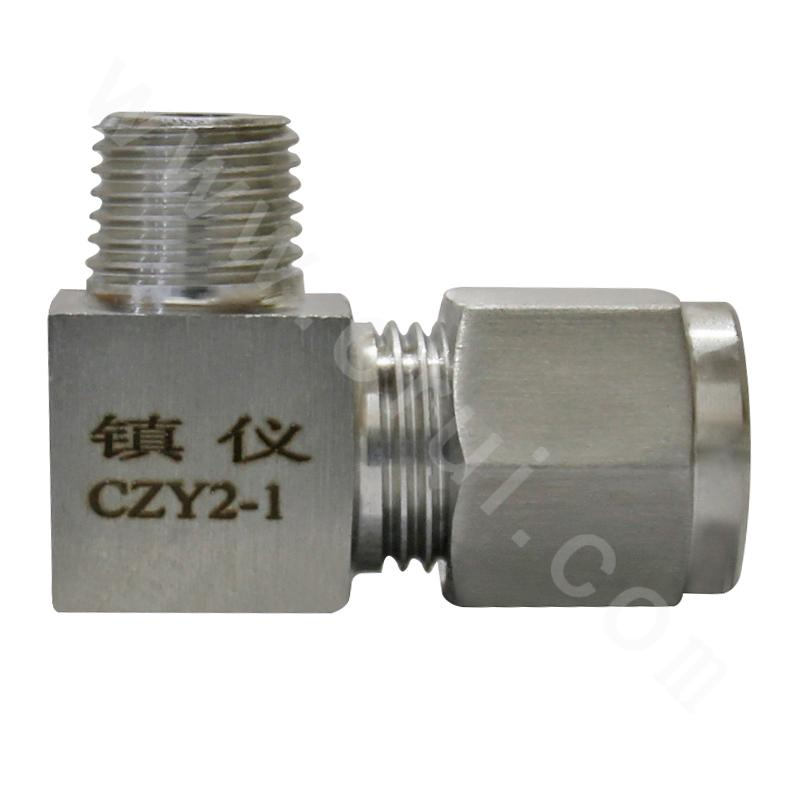 CZY2-1 Double-Ferrule Type External Thread Union Elbow