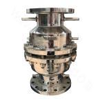 Rain-pouring alarm valve