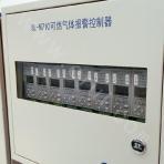 Combustible gas detector alarm controller