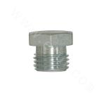 4B British Male Thread 60° Female Tapered or Hexagonal Face Combination Seal Plug