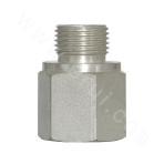 5GN Inch external thread O-ring / American cone tube internal thread