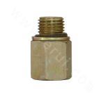 5HN Metric external thread light series ISO 6149-3 / American cone tube internal thread