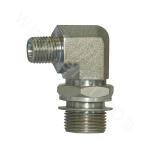1DH9-OG  Heavy 90° Metric External Thread Adjustable Stud End